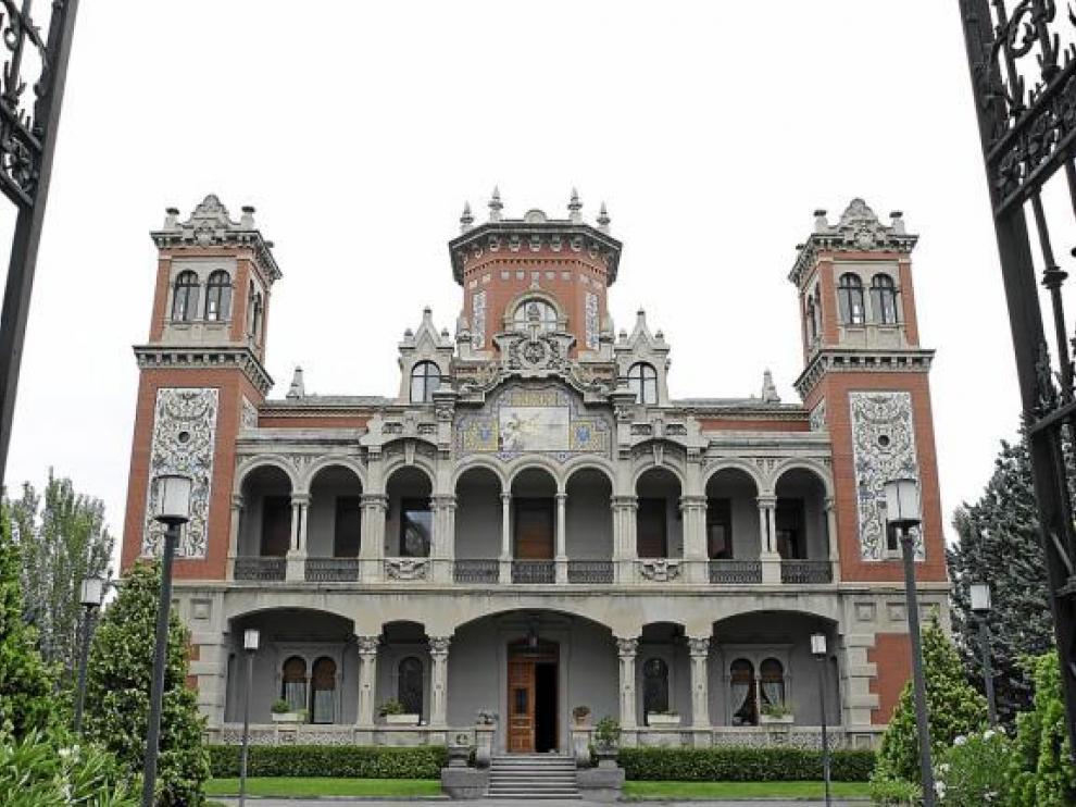 El Palacio de Larrinaga, lugar donde se encuentra el Centro de Documentación Ibercaja.