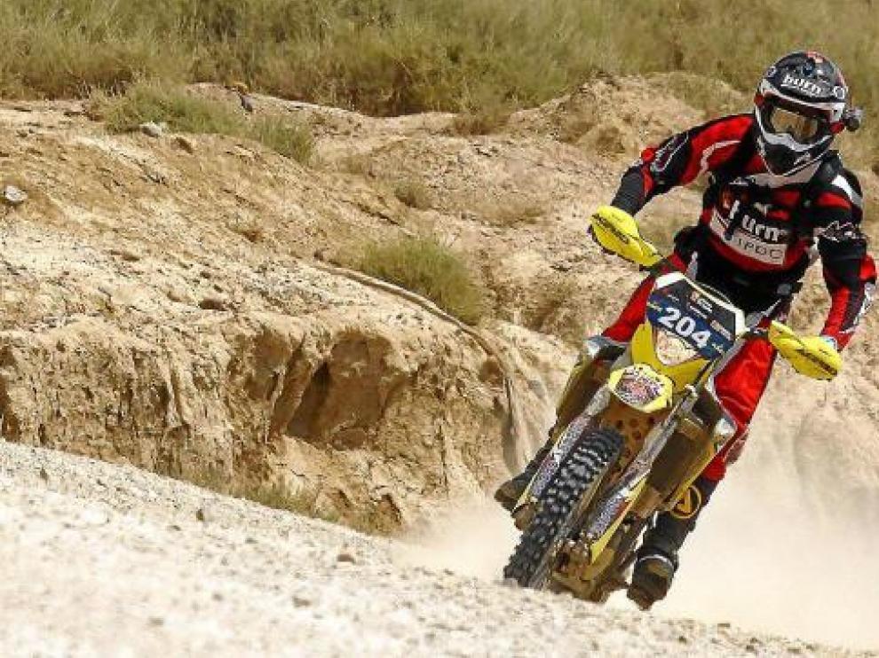 Joan Barreda aguantó la presión y logró el triunfo en la etapa de ayer.