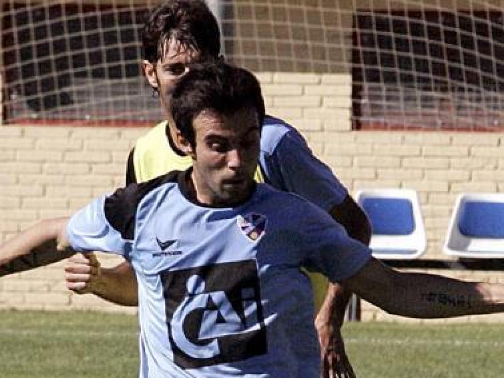 Francisco Molinero, en su primer entrenamiento.