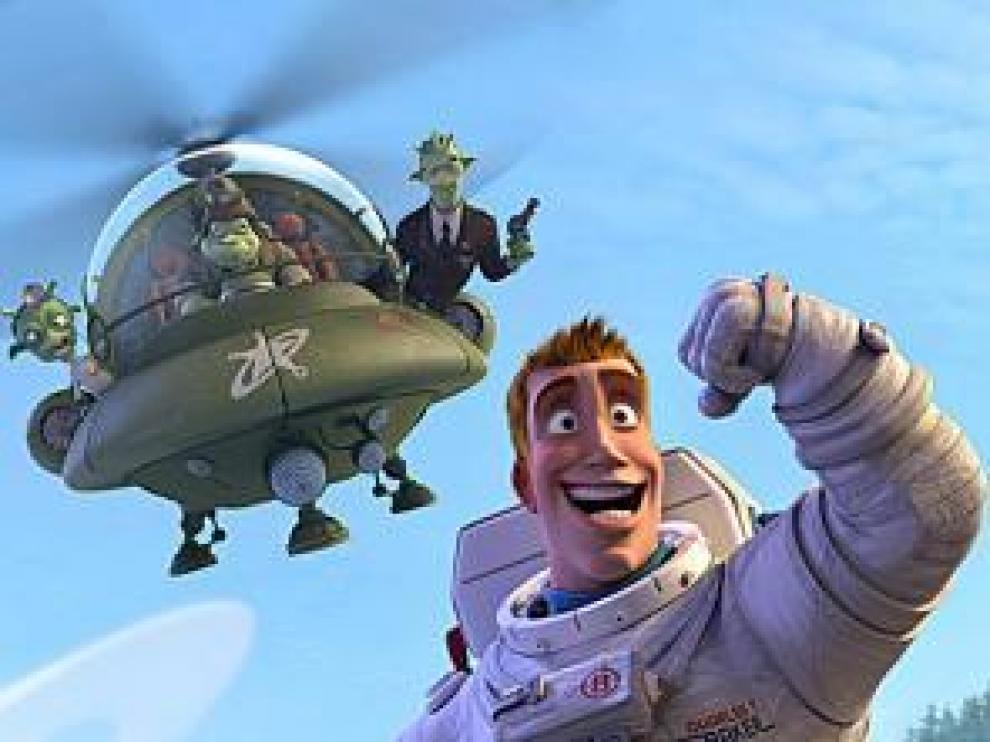 'Planet 51' llevó al cine a 1.643.634 personas