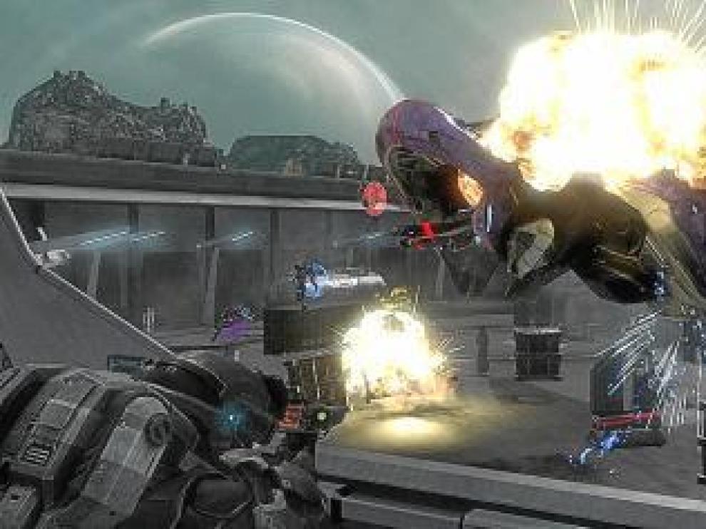 Fotograma del trailer de 'Halo: Reach', publicado ayer por Bungie.