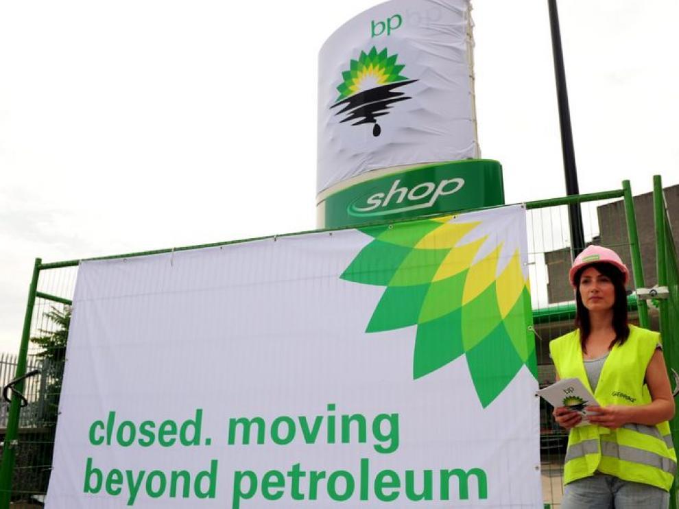 Cierre de gasolineras por parte de los ecologistas