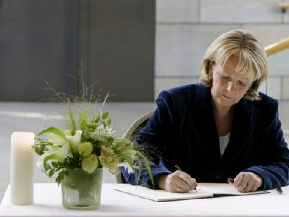 La jefa de gobierno del estado federado de Renania del Norte-Westfalia, Hannelore Kraft