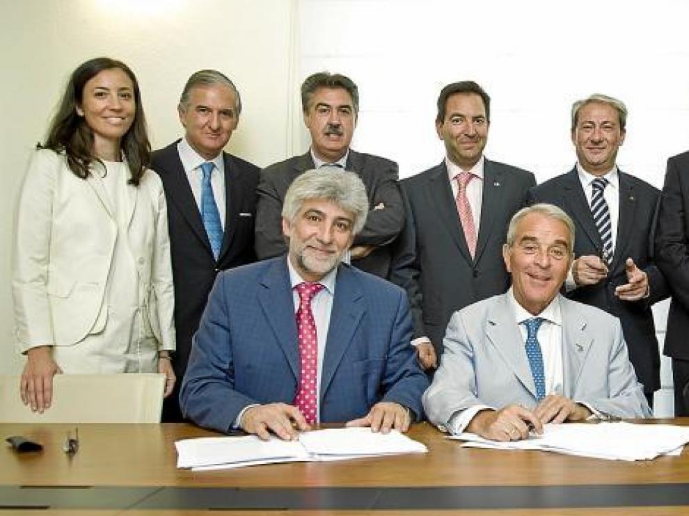 Mijangos, de Caja Círculo, será el primer presidente del SIP creado con CAI y Badajoz