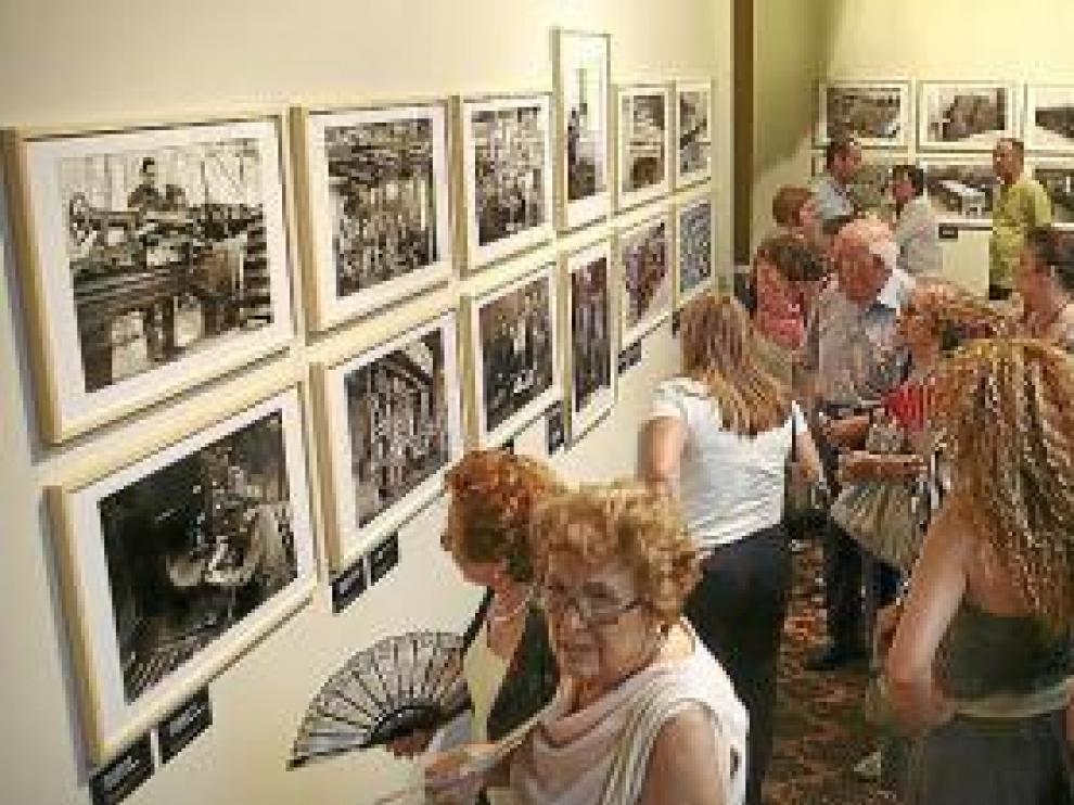 La exposición fue inaugurada ayer.