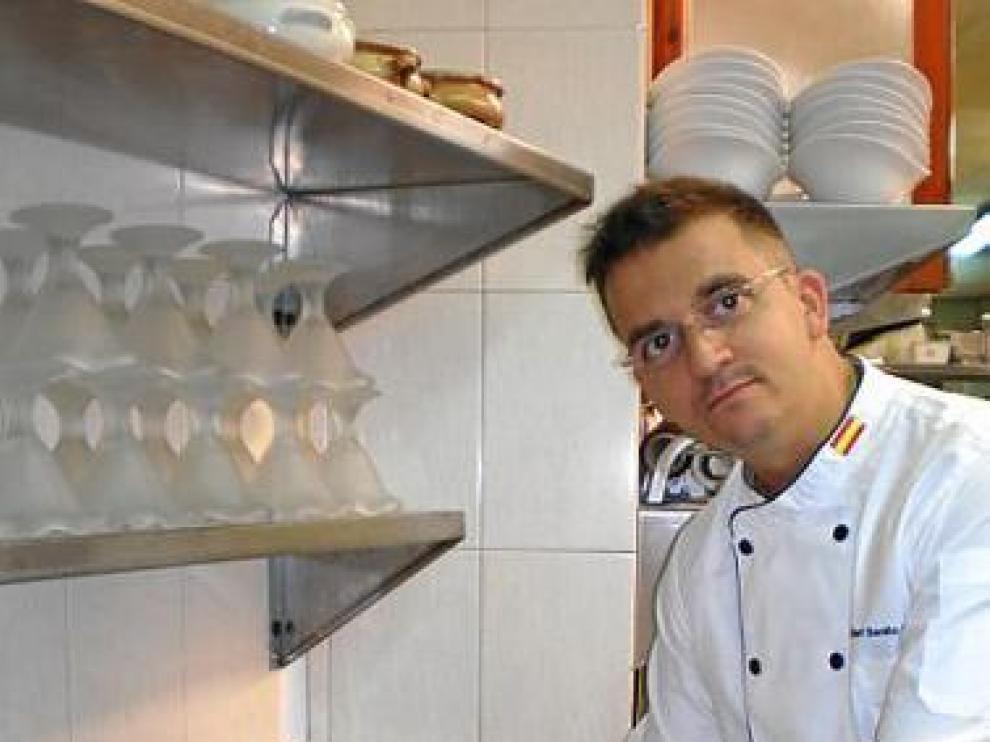 Benito Ostáriz, cocinero de la Parrilla de Benasque.