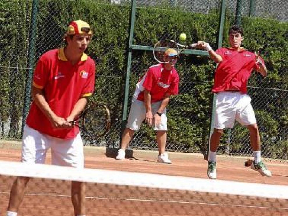 España perdió el partido de dobles y se quedó sin final.