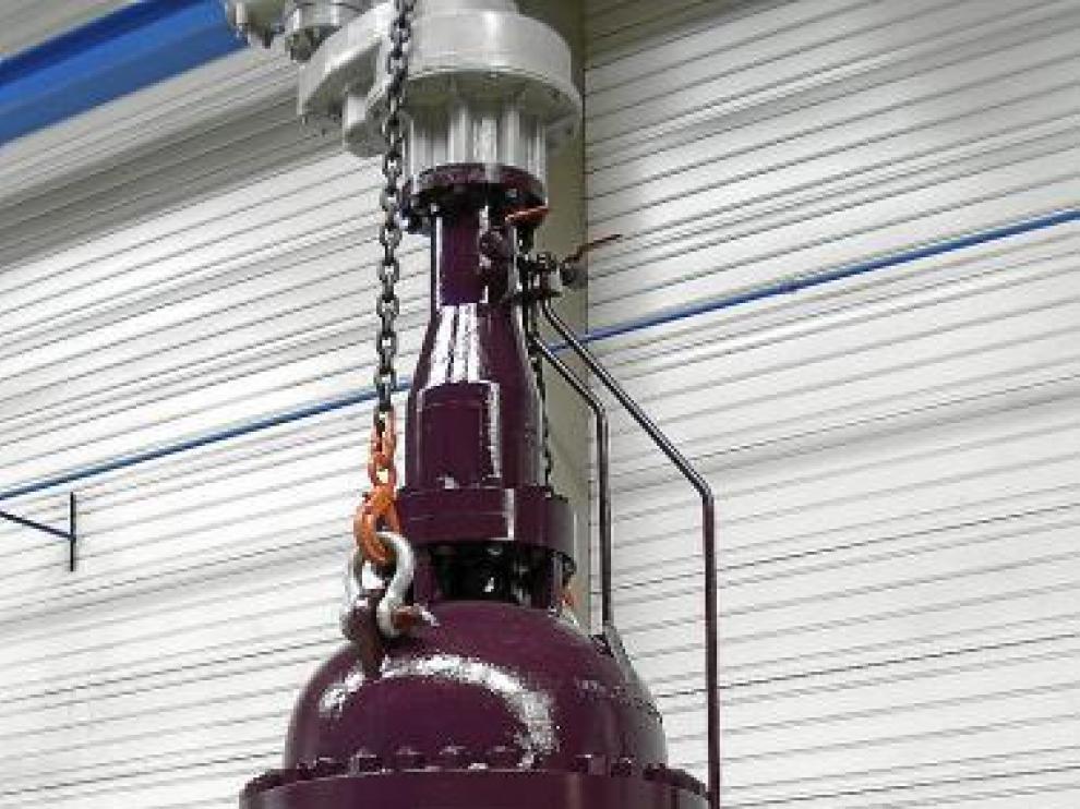 Válvula de Vector Valves para una refinería de Oriente Medio.