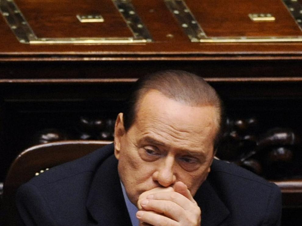 Berlusconi, en el Parlamento italiano