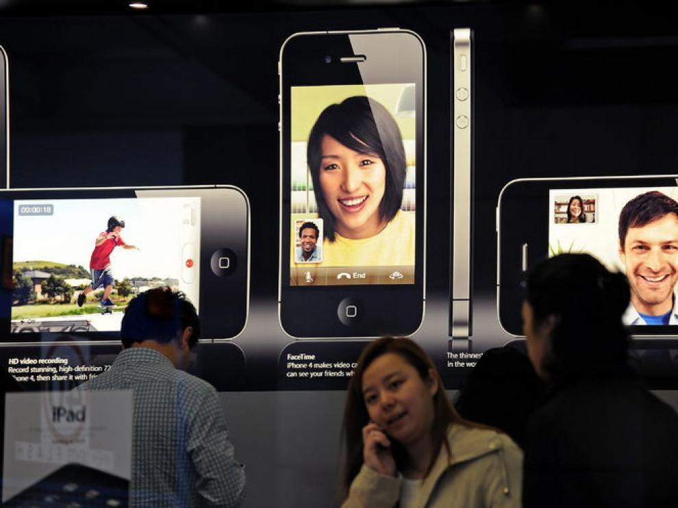 Pomoción del Iphone 4