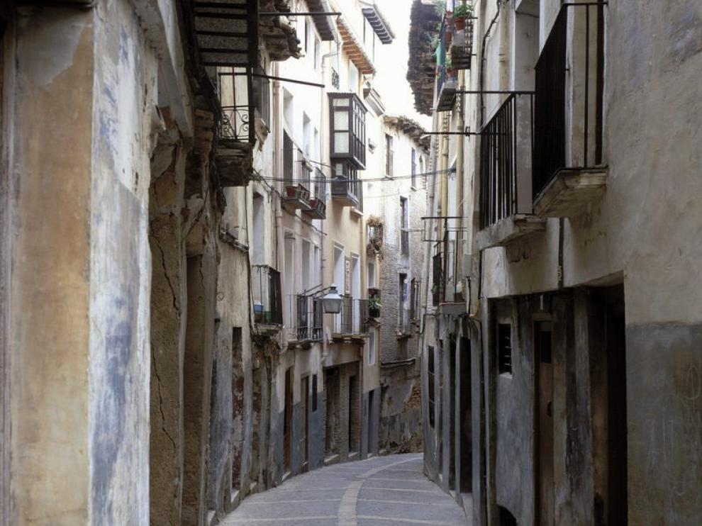 Una calle de la judería de Tarazona