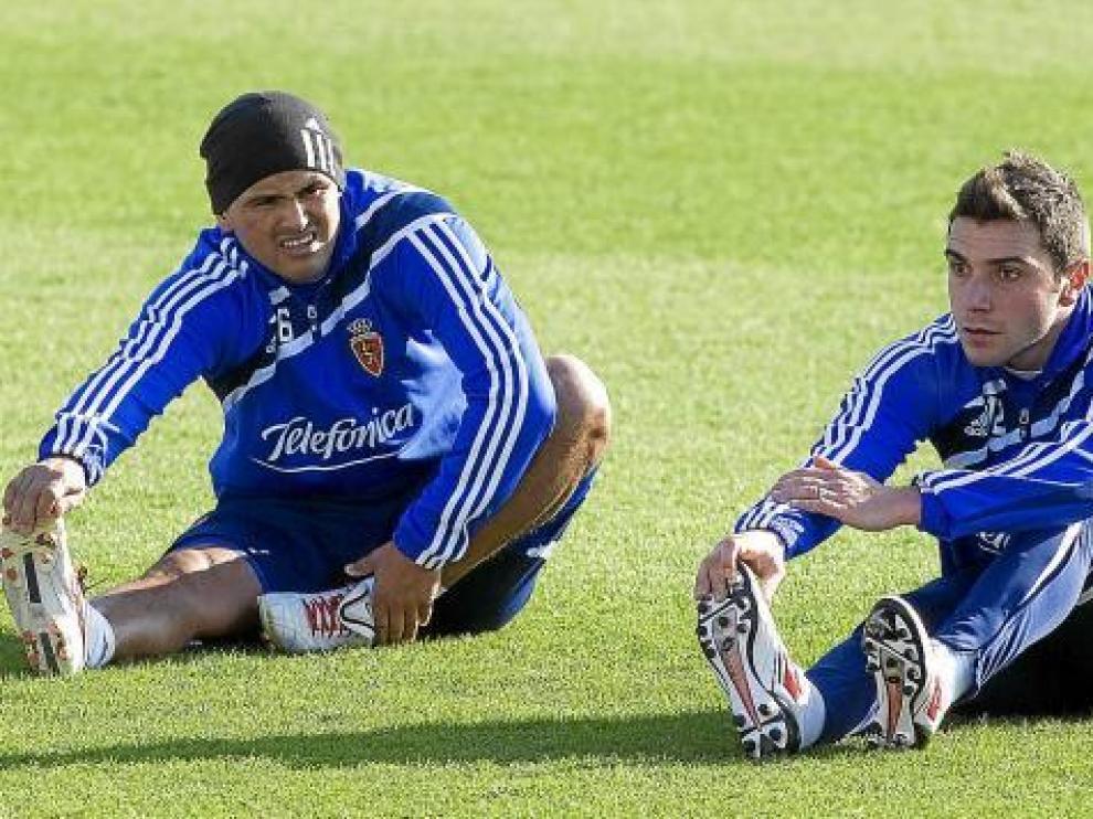 Suazo y Colunga, los dos refuerzos de invierno que fueron los mejores goleadores del año pasado.