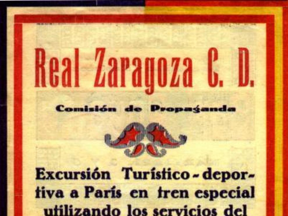 Al Zaragoza siempre  le quedará París