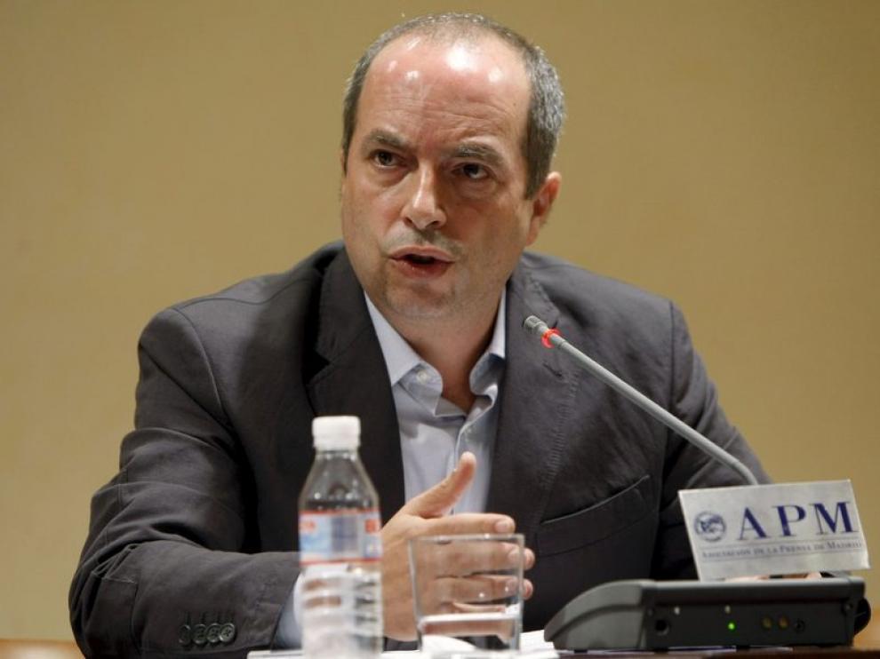 El portavoz de la Unión Sindical de Controladores Aéreos (USCA), Daniel Zamit