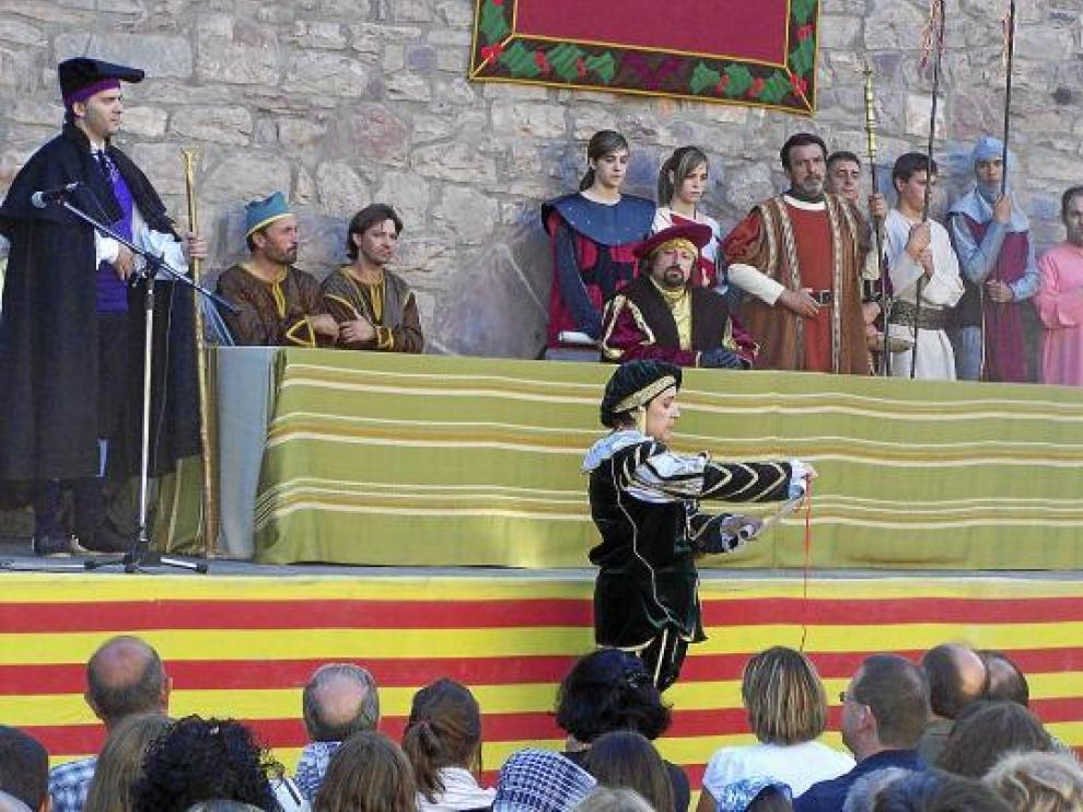 Imagen de archivo de una pasada celebración de la representación.
