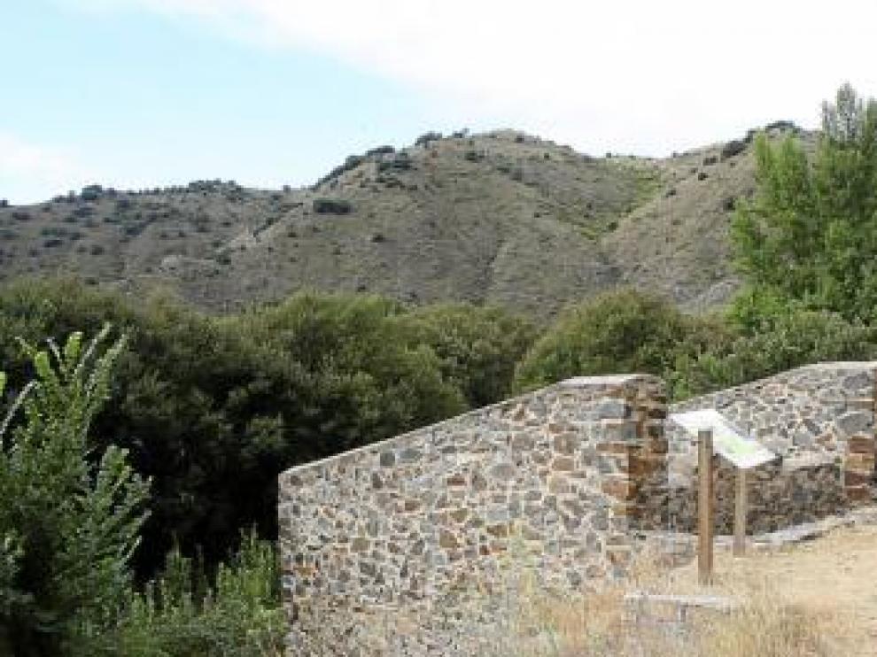 Aspecto exterior del molino restaurado en 2003.