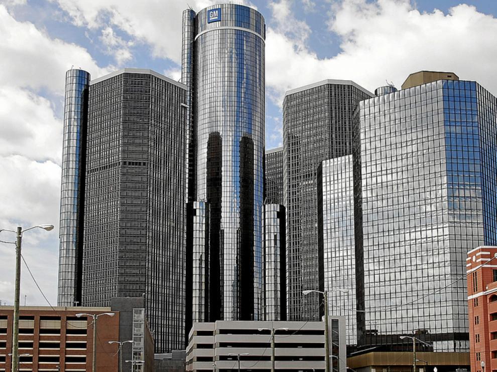 Sede central de General Motors Company, en Detroit.