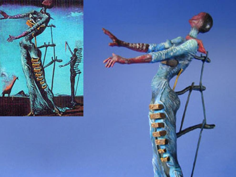 La obra de Dalí que ha sido robada.