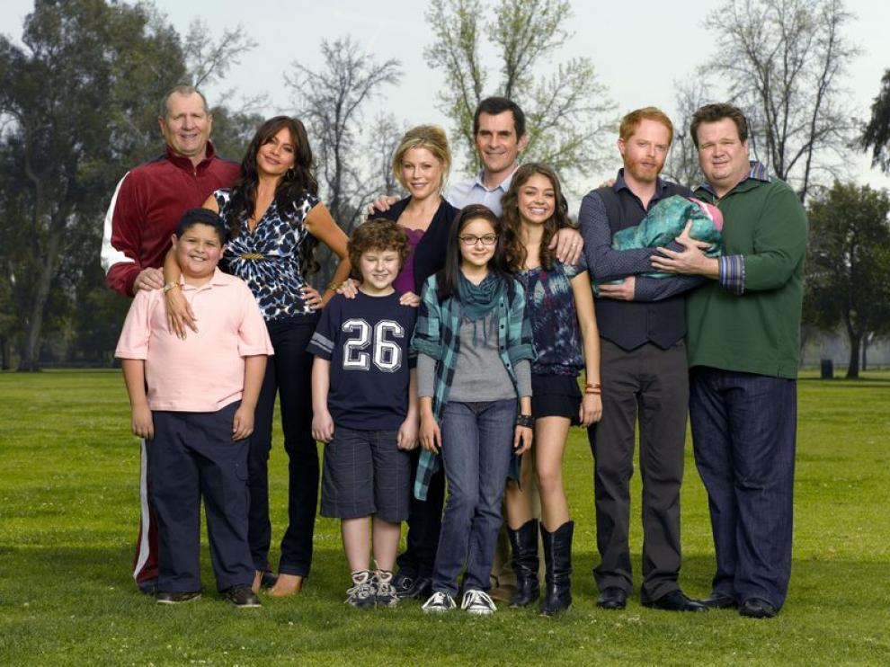 Fotograma de la serie 'Modern Family'.