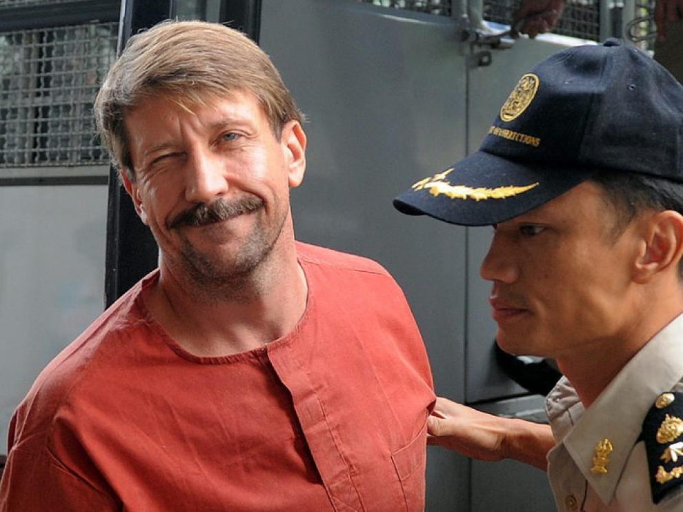 Viktor Bout, en la prisión de Bangkok.