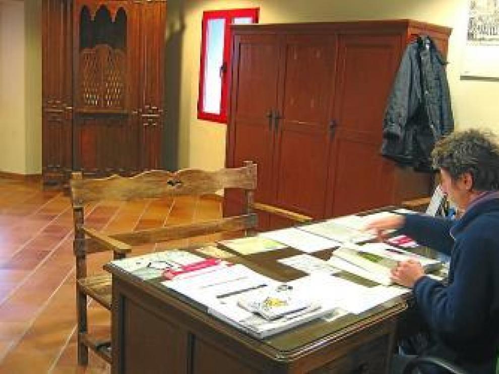 Imagen de archivo del albergue de peregrinos de Jaca.
