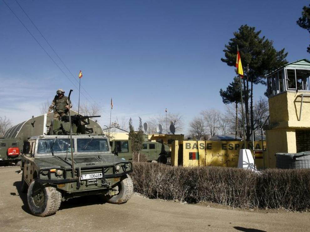 Base española en Qala-e-Naw