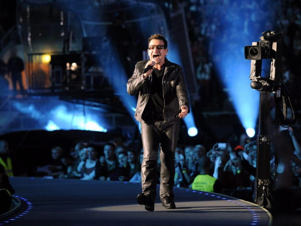 Bono, en un concierto de U2.