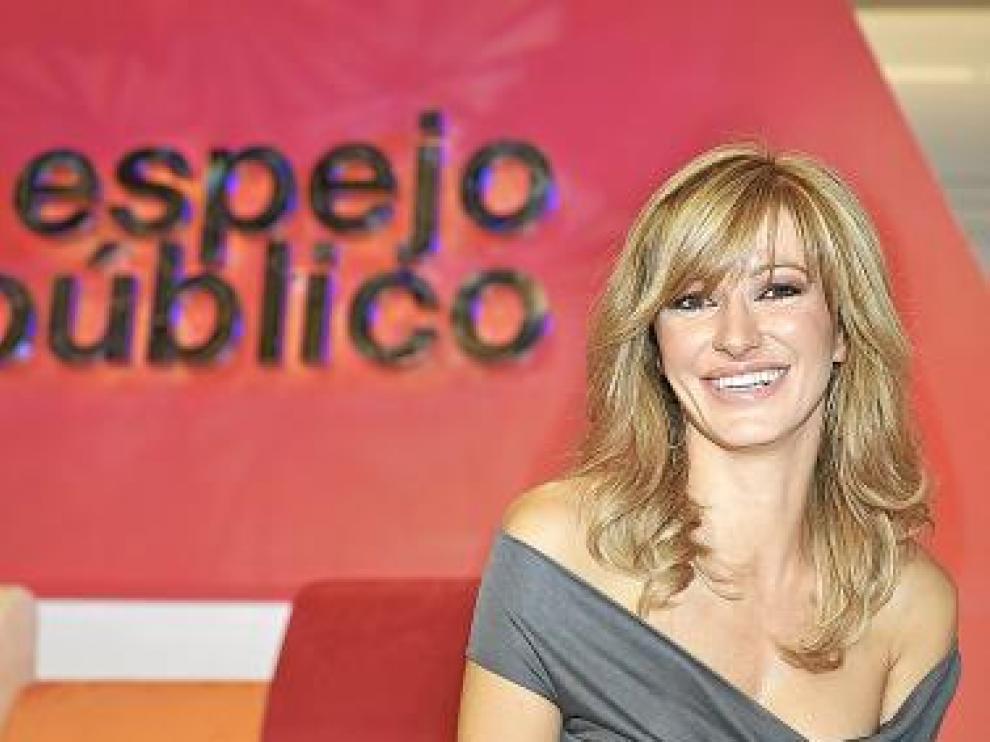 Susana Griso, en la presentación de ayer.