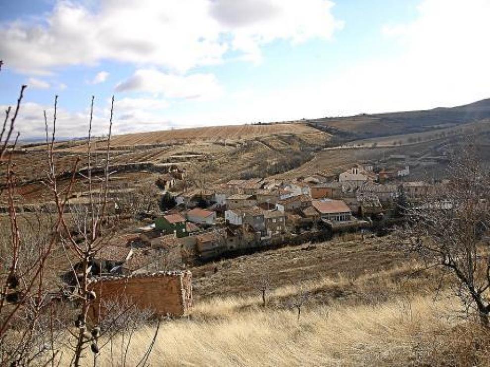 Una vista de Balconchán, en la comarca de Campo de Daroca.