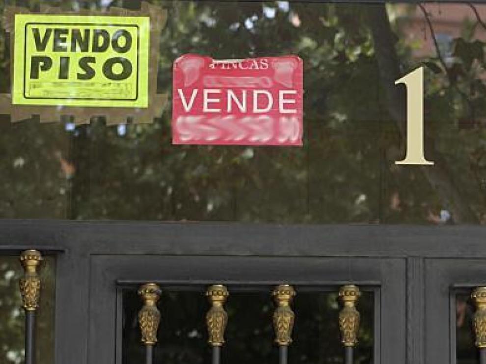Cada vez son más las viviendas que se ponen a la venta en Aragón.