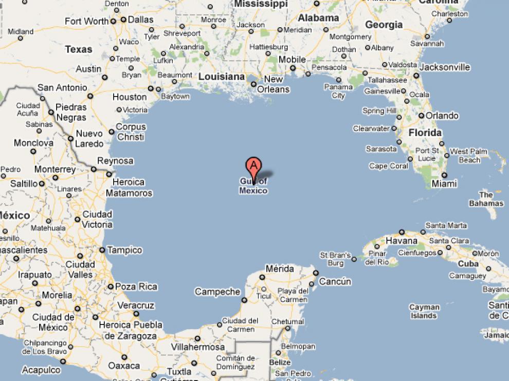 Golfo de México.