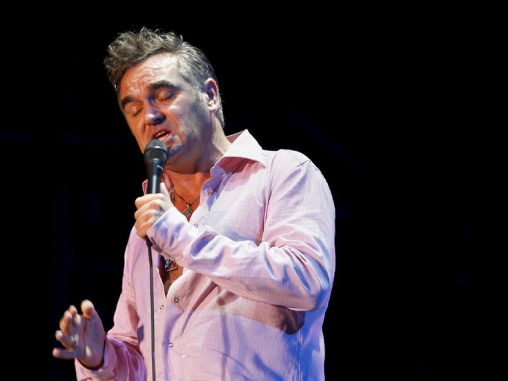 Morrissey, en un concierto