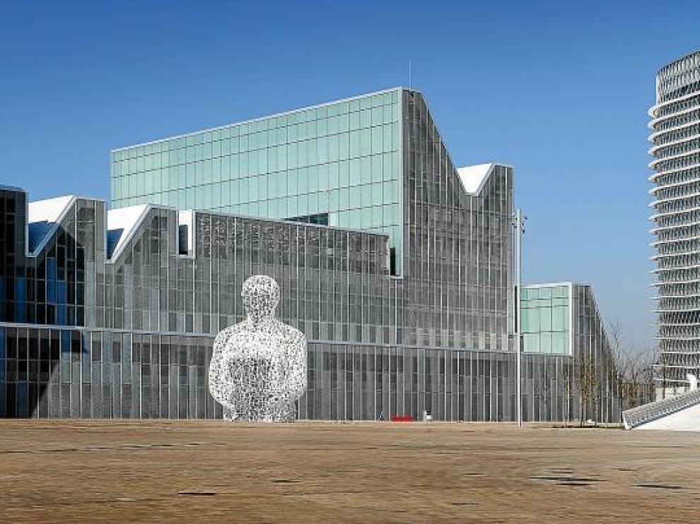 Una imagen del Palacio de Congresos de Zaragoza