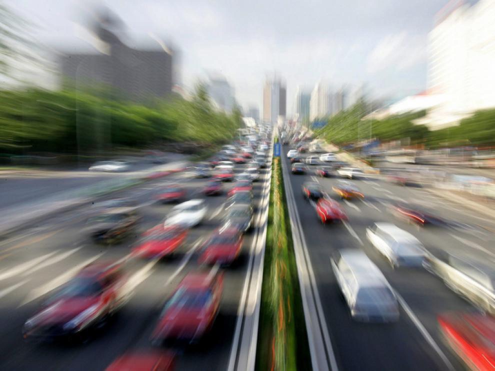 El tráfico produce el 40% del CO2.