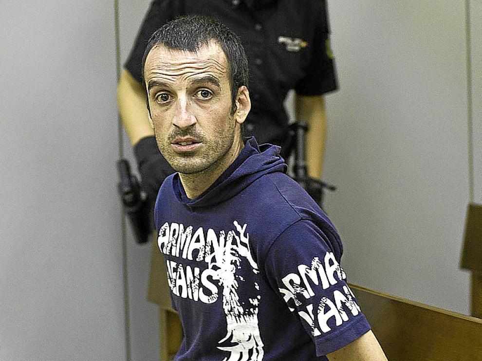 Juan Ramón Rubio, durante el juicio celebrado ayer