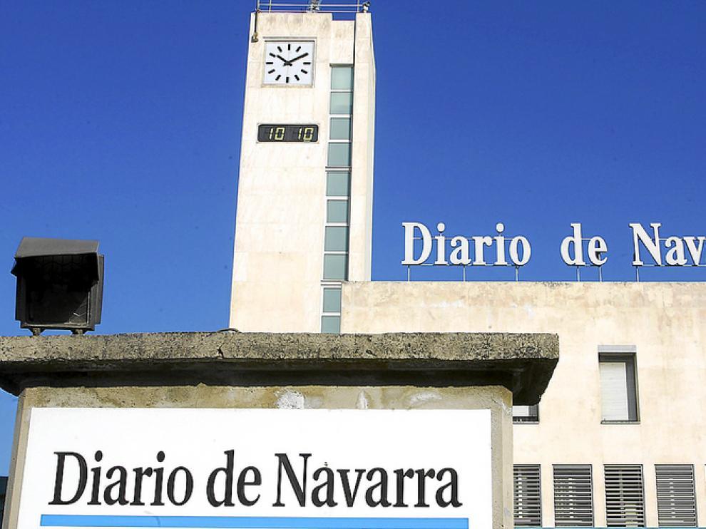 Sede de 'Diario de Navarra' en Pamplona