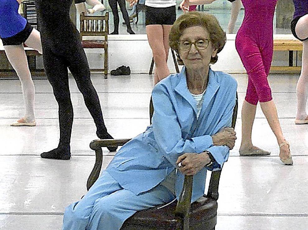 La bailarina y coreógrafa María de Ávila