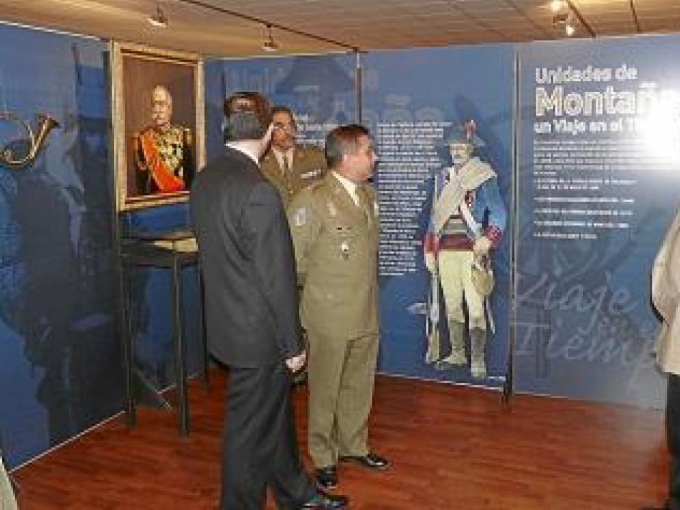Inauguración de las salas de las Unidades de Montaña.