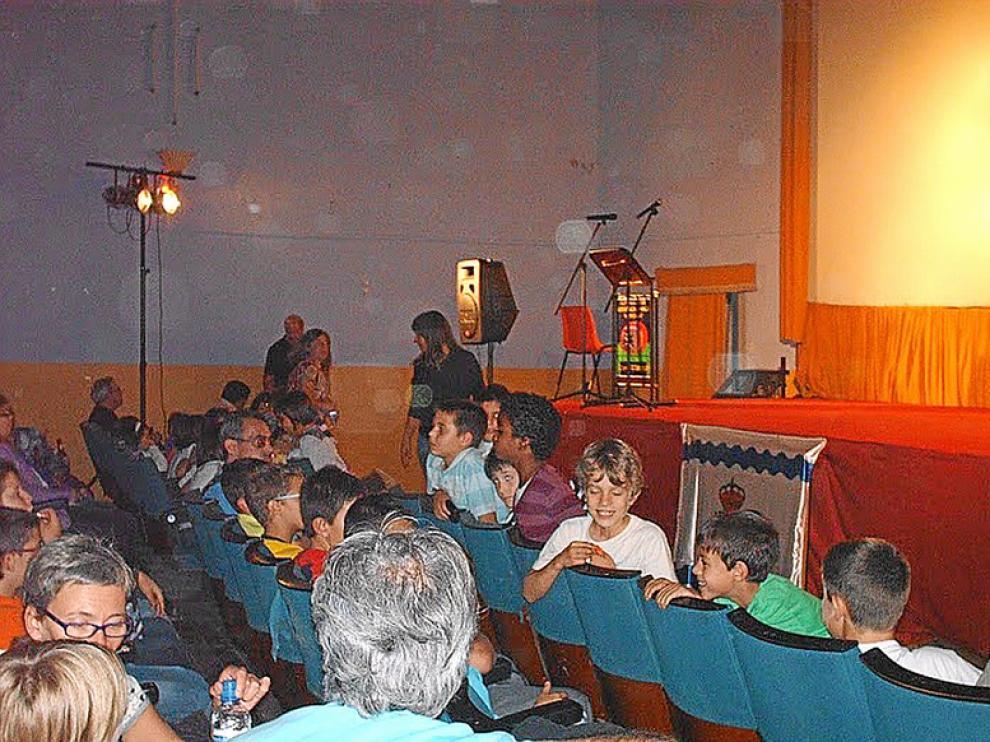 El público infantil participa activamente en Animainzón, como se ve en esta foto de la pasada edición.