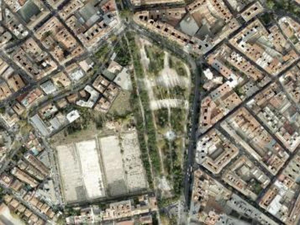 """El proyecto contempla la creación de un centro de mayores, un centro cívico """"una zona verde que duplicará la capacidad del Parque Pignatelli""""."""