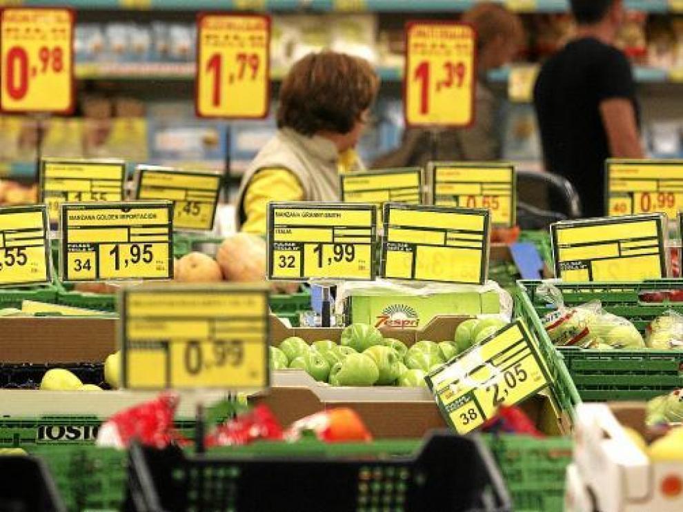 El ahorro en la compra ha descendido un 11,4 %.