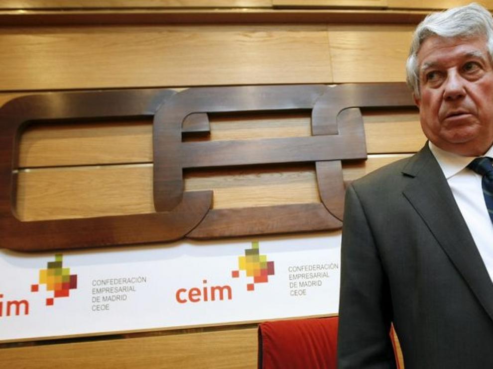 Arturo Fernández, presidente de la CEIM.