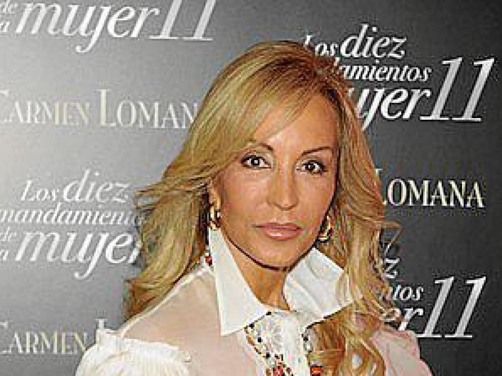 Carmen Lomana presenta: 'Los diez mandamientos de la mujer 11'.