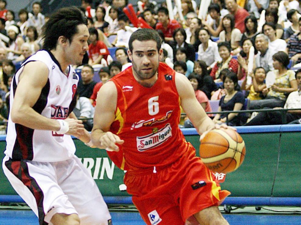 Carlos Cabezas con la selección