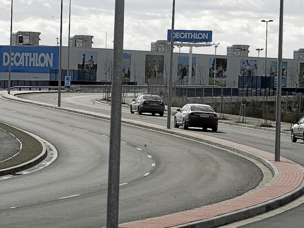 Imagen de la autovía de Huesca