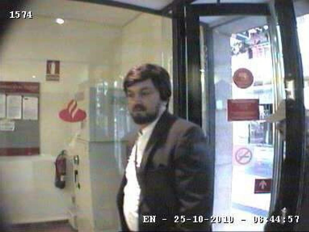 Imagen de la cámara de seguridad