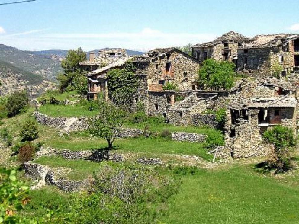 Imagen del pueblo que fue tomada cuando empezaron los trámites de venta, en 2006.