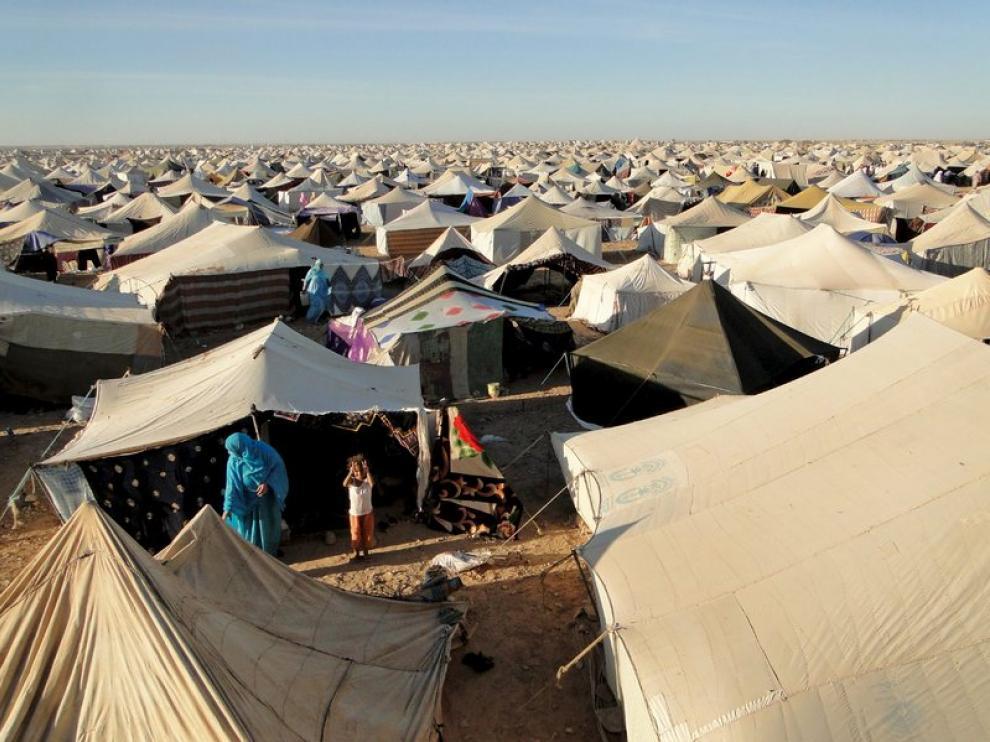 Vista general del Campamento de la Justicia y la Dignidad