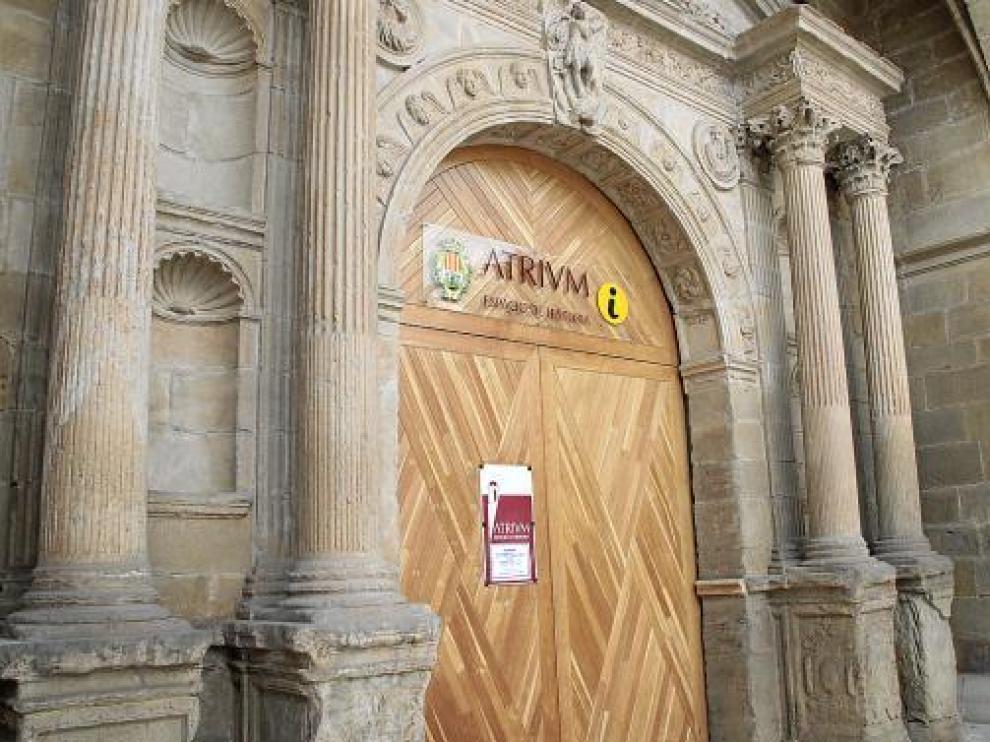 El espacio de Historia 'Atrivm' se ubica en la antigua iglesia de Santo Domingo de Alcañiz.