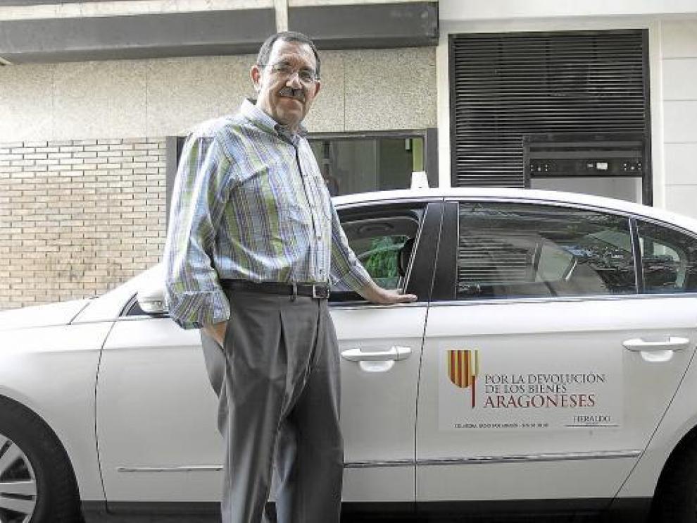La Asociación Radio Taxi de Aragón respalda la protesta.
